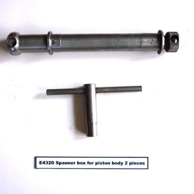 E4320 Spanner Box for Piston Body (2 piece)