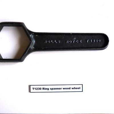 T1230 Ring Spanner Wood Wheel