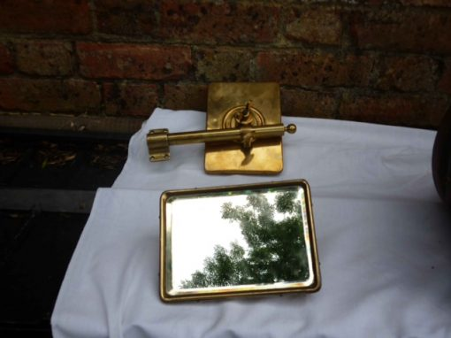 Brass Edwardian Windscreen Rear Mirrors - Original