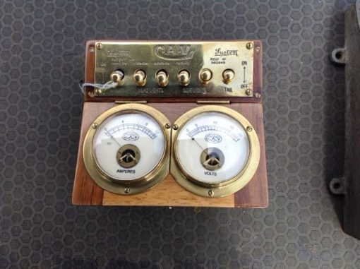 C.A.V. Lighting Switch Box - Original Restored