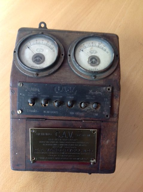 Original C.A.V. Lighting Switch Box